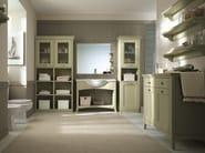 Solid wood bathroom furniture set NUOVO MONDO N18 - Scandola Mobili