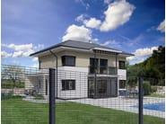 Chain-link modular steel Fence ZENTURO® SECURE - BETAFENCE ITALIA