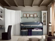 Loft bedroom set for boys/girls NUOVO MONDO N15 - Scandola Mobili