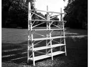 Open solid wood bookcase BALOCCO | Bookcase - Morelato