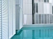 Aluminium Sunscreening system for facade Aluminium Sunscreening system for facade - STUDIO 66