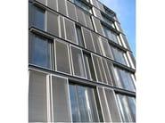 Sliding extruded aluminium solar shading Sliding solar shading - STUDIO 66