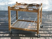 Teak trolley JEEVES - Tectona
