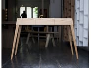 Wooden console table with drawers 3T | Console table - MALHERBE EDITION