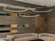 LED aluminium pendant lamp GIRATA HORIZONTAL - Sattler
