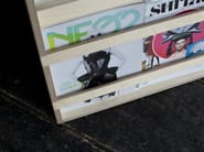 Contemporary style wooden magazine rack LE SIMPLE - MALHERBE EDITION