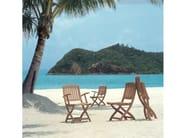 Teak garden chair with armrests BARTON | Chair with armrests - Tectona