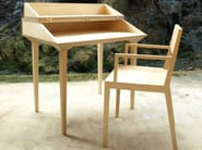 Chair with armrests C4 | Chair - MALHERBE EDITION