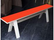 Multi-layer wood bench B 170   Bench - MALHERBE EDITION