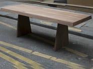 Rectangular wooden table TR 1 | Table - MALHERBE EDITION
