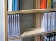 Sectional suspended CD rack WALL DISC | Suspended CD rack - MALHERBE EDITION