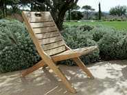 Folding teak garden chair POSITANO - Tectona