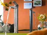 Washbasin mixer with automatic pop-up waste NEW ROAD | Washbasin mixer - Carlo Nobili Rubinetterie
