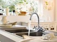 Chrome-plated 1 hole kitchen tap GRAZIA | Kitchen tap - Carlo Nobili Rubinetterie