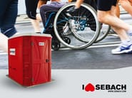 Portable WC for Disabled TOP SAN® HN 2.0 - SEBACH
