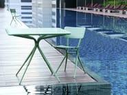 Aluminium garden chair GRASSHOPPER | Garden chair - Tectona