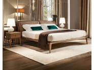Walnut double bed INDIGO | Double bed - SELVA
