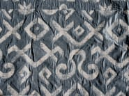 Cotton fabric with graphic pattern FEX - KOHRO
