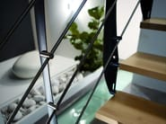 Steel and wood Open staircase PRIMA - RINTAL