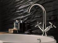 Chrome-plated countertop 1 hole washbasin tap SPRING | Washbasin tap - Carlo Nobili Rubinetterie