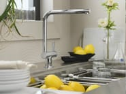 Countertop 1 hole kitchen mixer tap FLAG | Kitchen mixer tap - Carlo Nobili Rubinetterie