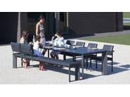 Contemporary style upholstered bench LARGO | Bench - Joli