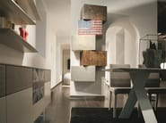 Wall cabinet InclinART - 312 - Presotto Industrie Mobili