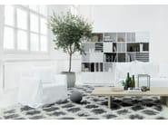 Modular floating bookcase NO.5 | Bookcase - Abstracta