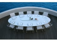 Oval Xeramica dining table ELYPS | Table - Joli