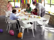 Extending rectangular table EXTENS - Joli
