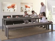 Rectangular Xeramica dining table WINGS | Table - Joli