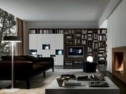 Sectional TV wall system Pari&Dispari - COMP 333 - Presotto Industrie Mobili