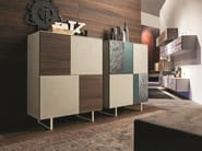 Sideboard H.1160 in beige seta ecomalta® with