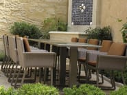 Aluminium garden table STOCKHOLM   Contract table - Sérénité Luxury Monaco