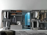 Sectional walk-in wardrobe VARIUS FREE - Presotto Industrie Mobili