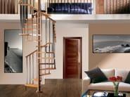 Wooden Spiral staircase TEKLA - RINTAL