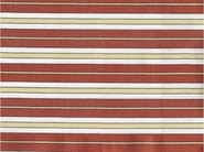Striped cotton fabric HAVERFORD - KOHRO