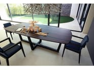 Wooden easy chair with armrests PORTOFINO | Easy chair - COLLI CASA