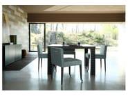 Square wooden table FIRENZE | Square table - COLLI CASA