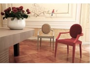 Oval wooden table ROMA | Oval table - COLLI CASA