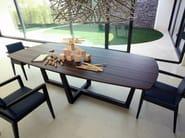 Rectangular wooden table TORINO | Wooden table - COLLI CASA