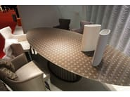 Oval metal table VENEZIA INTIMATE HUB - COLLI CASA