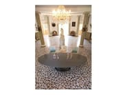 Lacquered oval table VENEZIA | Oval table - COLLI CASA