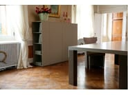 Lacquered highboard with doors VOLTERRA | Highboard - COLLI CASA