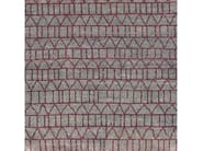 Patterned handmade wool rug CONTINUUM - COLLI CASA