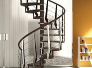 Steel and wood Stair railing MULTIBLADE - RINTAL