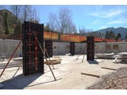 Formwork and formwork system for concrete GEOPANEL STAR - GEOPLAST
