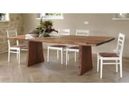 Rectangular pear wood dining table SBERLA DE PERO | Kitchen table - CADORIN GROUP