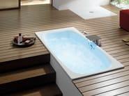 Oval built-in bathtub BETTEJET - Bette