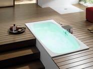 Oval built-in bathtub BETTEMICROJET - Bette